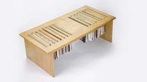 Table range-revue, solution de rangement magazines et revues