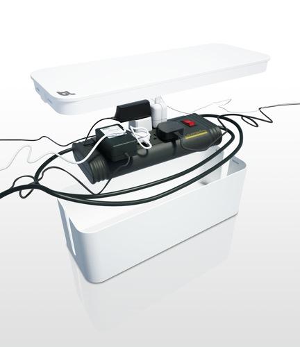 Une solution design pour ranger ses cables lectriques - Rangement cables electriques ...