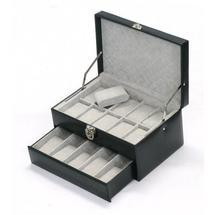 Coffret 15 montres en cuir