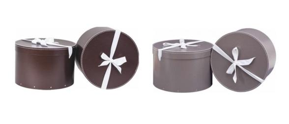boite à chapeaux : des boites de rangement rondes et vintage