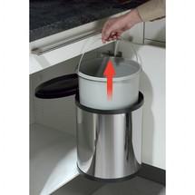 Poubelle encastrable une poubelle de cuisine discr te for Poubelle de cuisine encastrable