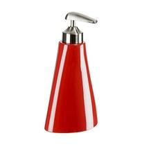 Distributeur savon rouge
