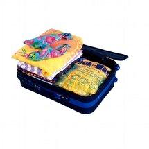 Des bagages bien ranges avec les housses sous vide THISGA a