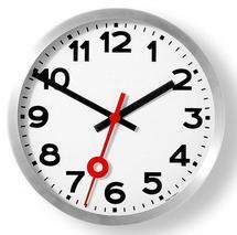 horloge mural gare