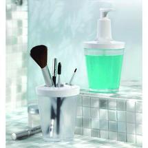 Distributeur savon de salle de bain