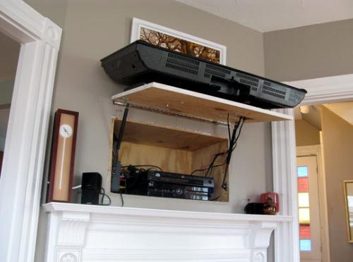 Solution gain de place pour vos appareils hifi et vidéo