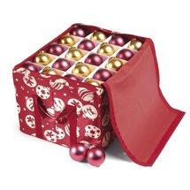 boite de rangement pour d coration et boules de no l. Black Bedroom Furniture Sets. Home Design Ideas