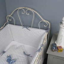 Linge de lit bébé chic et poétique