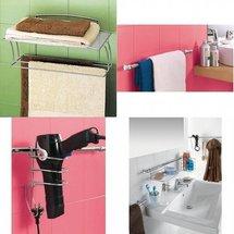 Des rangements malins pour votre salle de bain
