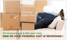 Des packs tout prêts pour votre déménagement