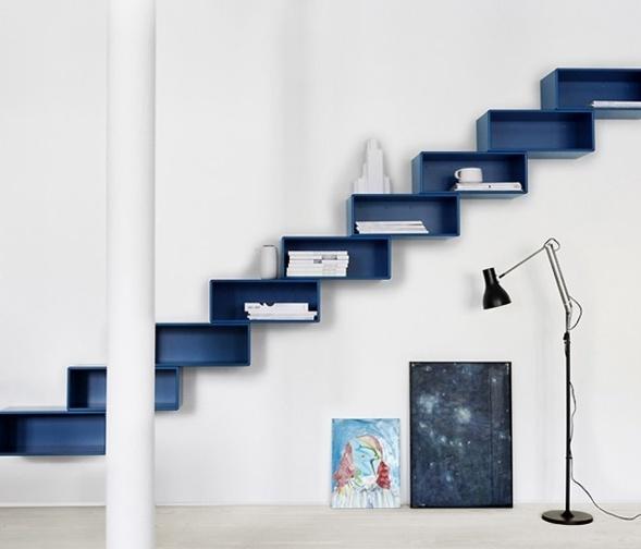 Comment utliser l 39 espace sous un escalier - Escalier rangement integre ...