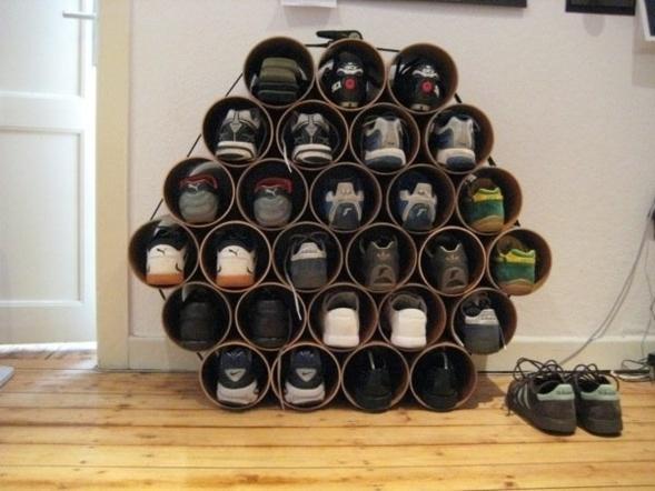 rangement des chaussures truc