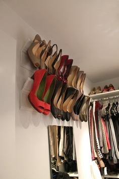39 bonnes id es pour ranger ses chaussures - Range chaussures a suspendre ...