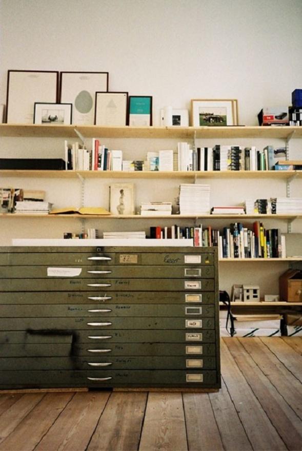 20 id es originales pour ranger son bureau la maison for Bureau home studio