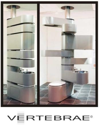 Le rangement ultime pour la salle de bain for Meuble eau japonaise