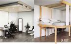 Chambre à coucher : le lit au plafond ou la solution gain de place