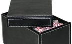 Des rangements qui s'affichent : boites et coffrets de rangement en cuir