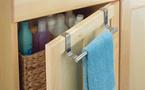 Rangement de la salle de bain : une astucieuse barre porte-serviettes
