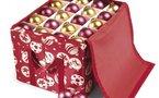 Boite de rangement pour décoration et boules de Noël