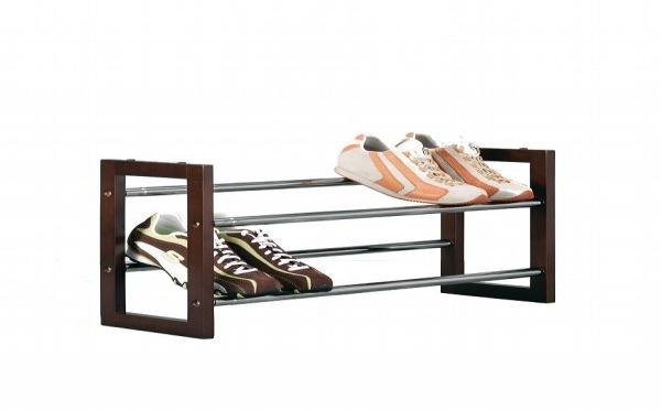 Un range chaussures extensible en bois