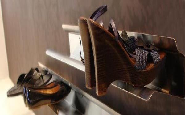 Un rangement à chaussures pas comme les autres !