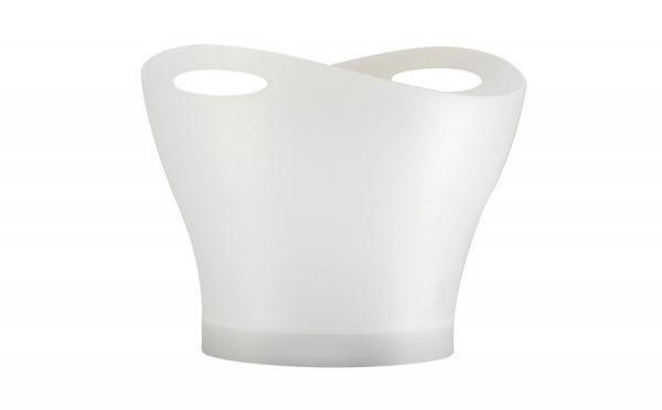 Une nouvelle corbeille à papier blanche