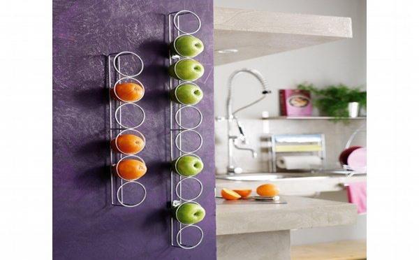 Colonne 6 fruits :  la corbeille à fruits design