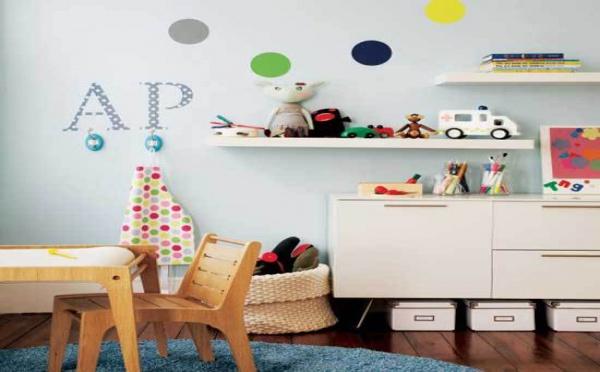 10 conseils pour le rangement de la chambre des enfants