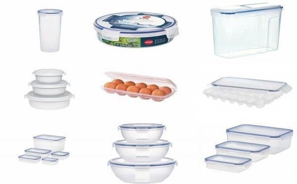 Une farandole de boites alimentaires pour le rangement de la cuisine