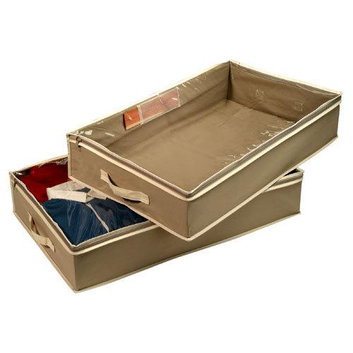 Boîte de rangement pour couette et linge