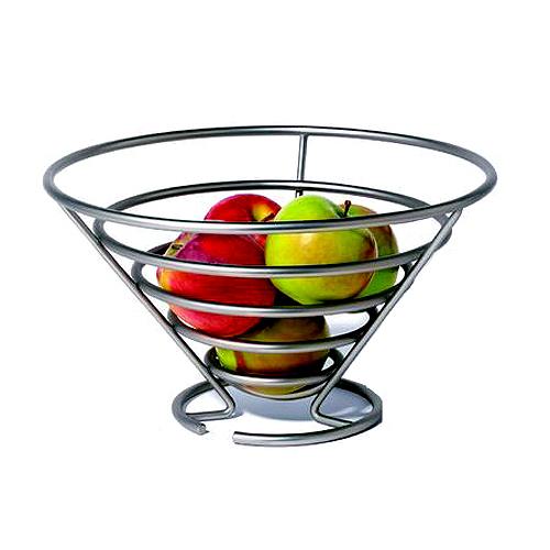 corbeille de fruits design, corbeille à fruit cuisine, accessoire de rangement pour cuisine