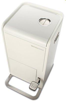 poubelle de cuisine pour le tri, poubelle design de cuisine pour le tri, poubelle de recyclage, poubelle métallique