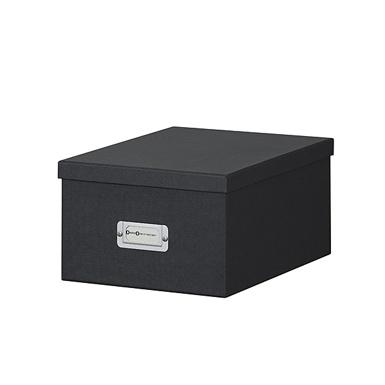 boite de rangement en carton, boite de rangement pour photos, boite pour médias, boites pour collection photos, boites de tri photos, boite avec insert aluminium