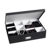 boite carton compartimentée, boite de rangement accessoire mode, boite dressing