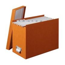 boite classement thisga, boite archivage orange