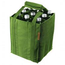 Panier à bouteille vert