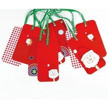 Etiquette cadeau Noël
