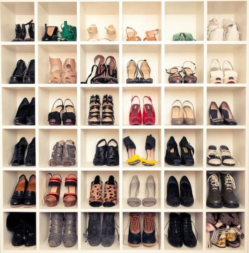 meuble chaussure talon