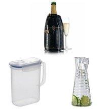 Carafes et refroidisseur bouteille de champagne