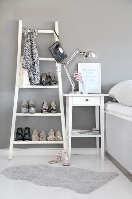 39 bonnes id es pour ranger ses chaussures. Black Bedroom Furniture Sets. Home Design Ideas