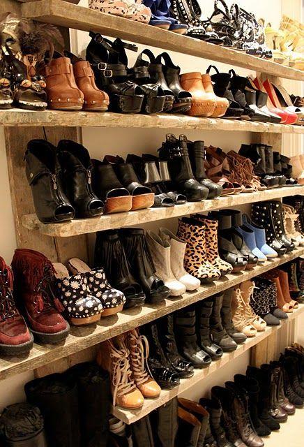 39 bonnes id es pour ranger ses chaussures - Etagere pour chaussure ...