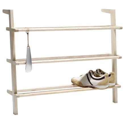 39 ing nieuses id es pour ranger ses chaussures la suite. Black Bedroom Furniture Sets. Home Design Ideas