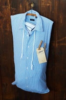 Chemise sac à linge