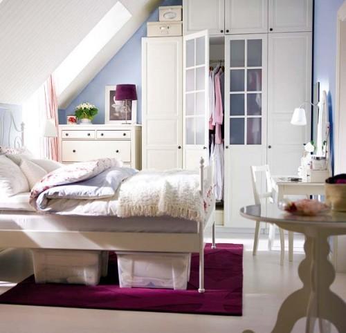 10 astuces de rangement pour la chambre. Black Bedroom Furniture Sets. Home Design Ideas