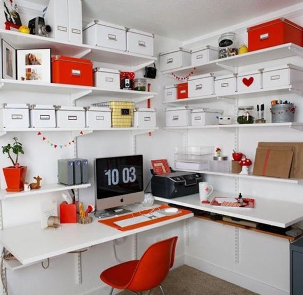 ides originales pour ranger son bureau la maison
