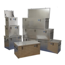 Malle en aluminium pour chantier - Série R