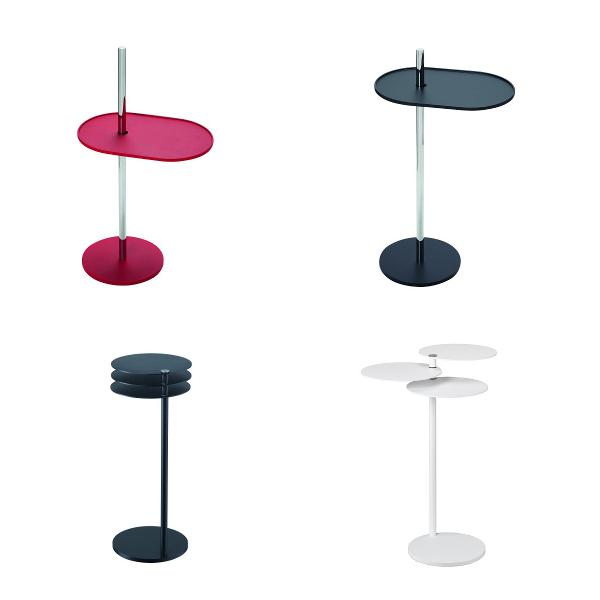 Tables basses amovibles