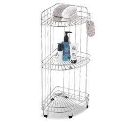 Paniers d'angle pour baignoire, rangement salle de bain