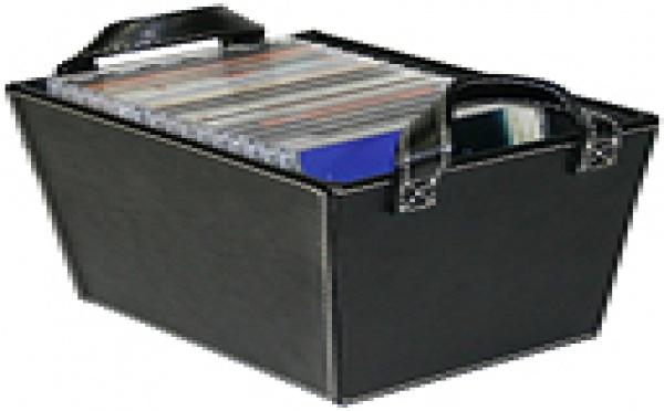 Rangement CD & DVD : des boites de rangement en simili cuir pour tout organiser
