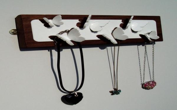 Rangement pour bijoux : la prime à l'originalité